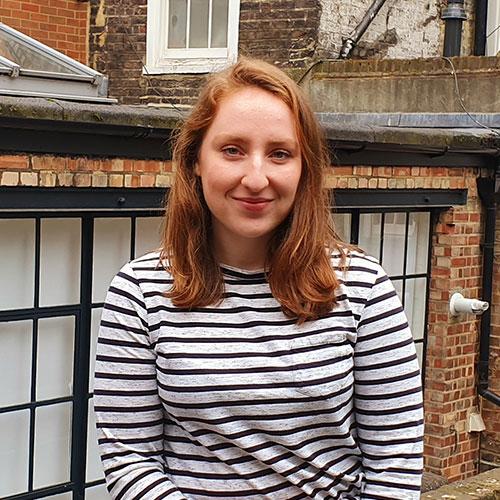 Megan Critchley, Junior Data Analyst